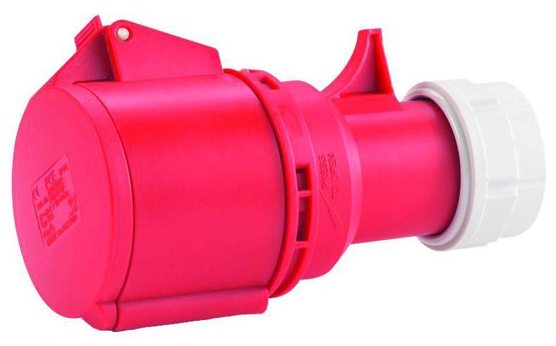 CEE-Kupplung 5x16 A Mit Twist-Schnellverschluss 16 A / 400 V, für Querschnitte bis 5x4,0 mm²