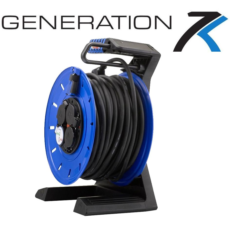 Vollkunstoffkabeltrommel HEDI Generation 7