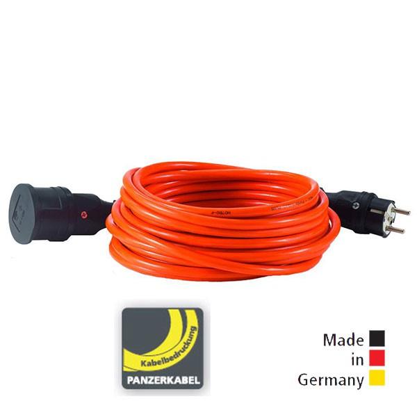 HEDI Panzerkabel-Verlängerungsleitungen PLUS orange