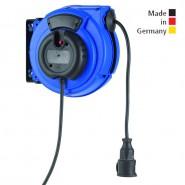 Federzugtrommel Elektro-Ausführung, Neopren-Gummi-Leitung, 10 m H07RN-F 3G1,5